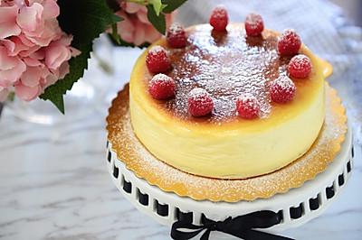 甜点-小嵨老师的经典重乳酪蛋糕(无底版)
