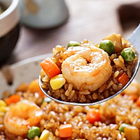 日食记丨鲜虾酱油炒饭