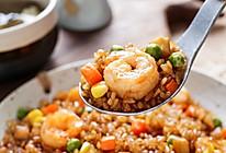 日食记丨鲜虾酱油炒饭的做法