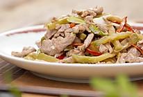 榨菜炒肉丝 美食台的做法
