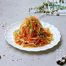 #秋天怎么吃# 快手菜——凉拌三丝