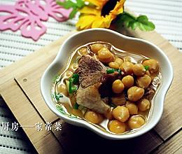 鹰嘴豆炖排骨的做法