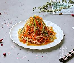 #秋天怎么吃# 快手菜——凉拌三丝的做法