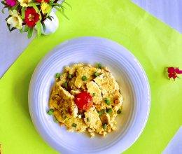 #少盐饮食 轻松生活#豆腐肉末蛋的做法