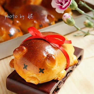 """祭祖""""金猪""""——叉烧金猪小面包"""