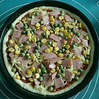 鲜虾火腿披萨的做法图解10