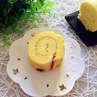 葡萄干蛋糕卷的做法图解17