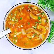 #餐桌上的春日限定#番茄菌菇麻食