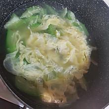 一招鲜丝瓜鸡蛋汤