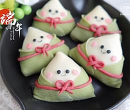 """与""""粽""""不同,不会包粽子,就包超可爱的粽子饺子吧的做法"""