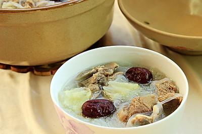 羊肉暖身汤