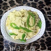 味道超赞的【大喜大】版  --  尖椒干豆腐的做法图解4