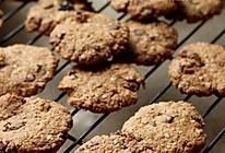 巧克力豆果干燕麦饼干的做法