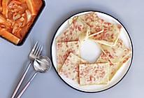 快手早餐—火腿鸡蛋饼的做法