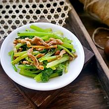 芹菜炒肉丝#中式减脂餐#