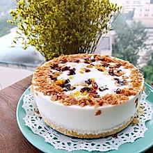 百合蔓越莓杏干慕斯蛋糕