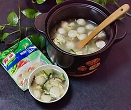 #营养小食光#海鲜鱼丸汤的做法