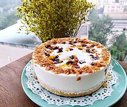 百合蔓越莓杏干慕斯蛋糕的做法