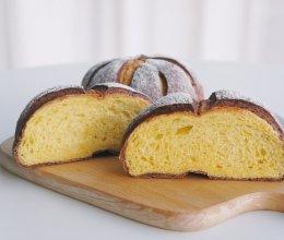 可可南瓜面包的做法