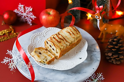 豆浆苹果蛋糕