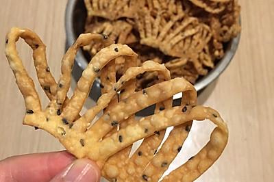 傳統小吃(馓子)