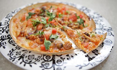 新奥尔良海鲜匹萨的做法