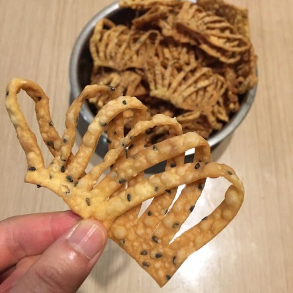 传统小吃(馓子)的做法