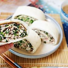营养美味菜卷子