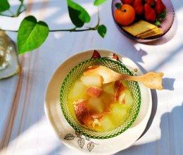 减脂餐 冬瓜火腿汤的做法
