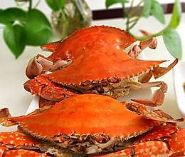 清蒸海蟹的做法