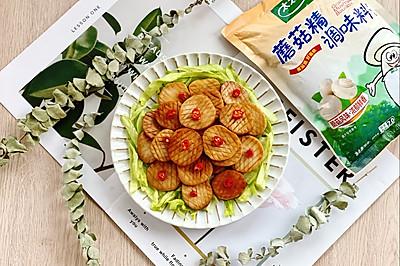 素烧杏鲍菇