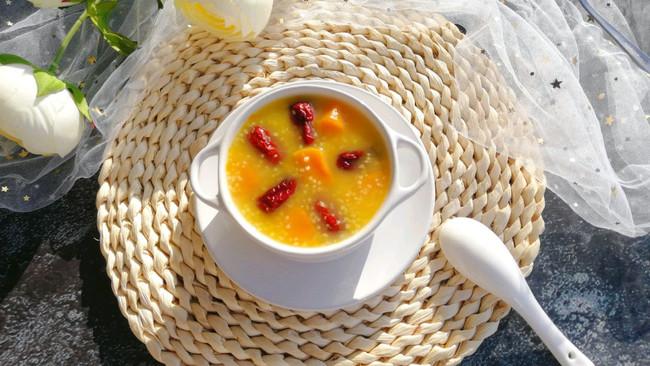南瓜红枣小米粥的做法