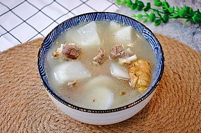白萝卜排骨汤这么做,清甜不油腻