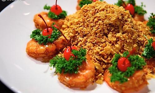 麦片虾的做法