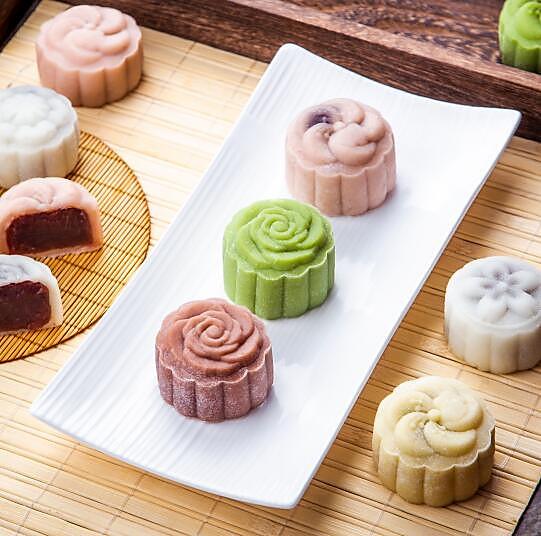 冰皮月饼 — 糯米粉版本