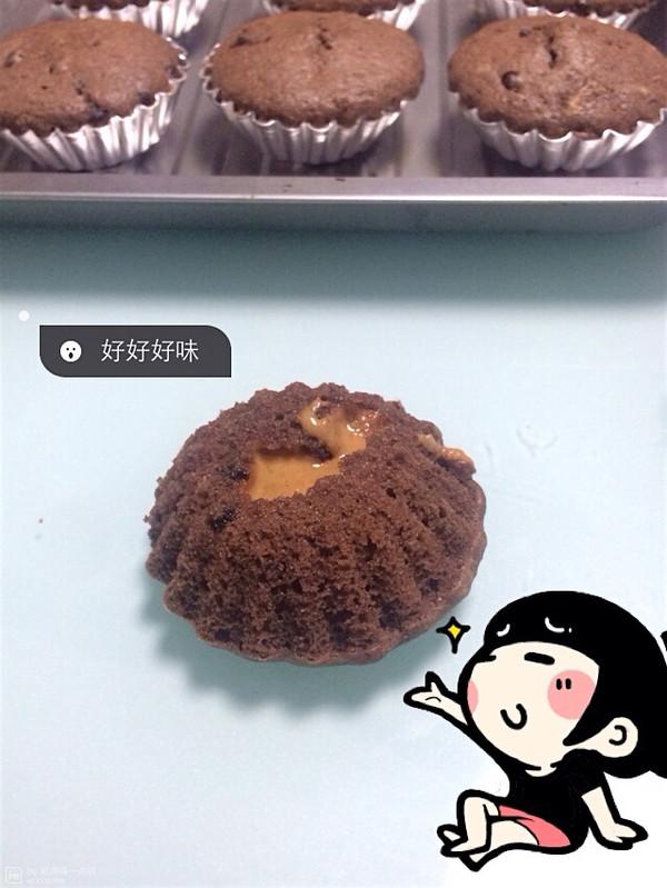 爆浆花生巧克力绵绵蛋糕的做法