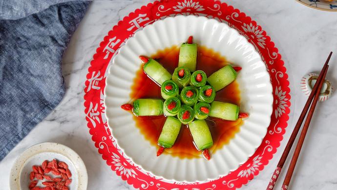 响油黄瓜,快手宴客菜#新年开运菜,好事自然来#