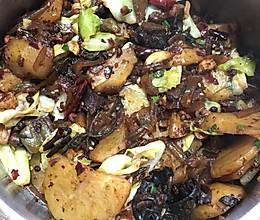 干锅大杂烩的做法