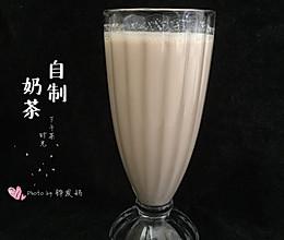 #美食视频挑战赛#自制奶茶的做法
