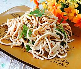 #中秋团圆食味#东北-炝干豆腐丝的做法