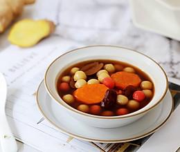 #憋在家里吃什么#姜汁红薯小汤圆的做法