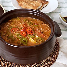好吃正宗的大酱汤#韩国大酱汤#
