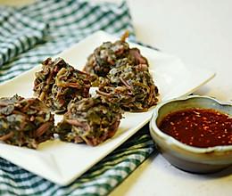 马齿苋菜团#自己做更健康#的做法