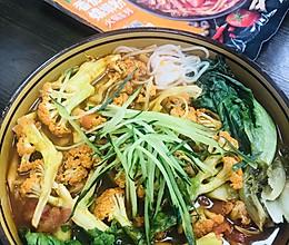 #饕餮美味视觉盛宴#番茄螺蛳粉火锅的做法