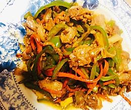 尖椒炒羊肉的做法