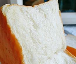 新手也能做的一次发酵超软牛奶吐司的做法