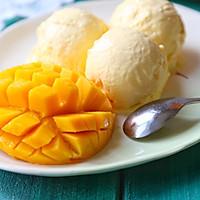 无蛋无须搅拌芒果冰淇淋#膳魔师夏日魔法甜品#的做法图解7