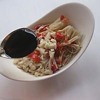 #苏泊尔智能电饭煲#剁椒蒸金针菇的做法图解6