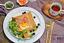 法式咸可丽饼|来自法国布列塔尼的特色煎饼果子,荞麦可丽饼的做法