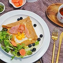 法式咸可丽饼|来自法国布列塔尼的特色煎饼果子,荞麦可丽饼